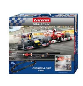 Carrera Digital 132 - Formula One Duel für 149,87 € @ Amazon (Update: 145,19 €!)