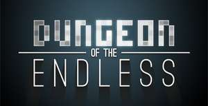 Dungeon of the Endless (50%  - 5,99 €), Dungeon of the Endless Crystal Pack (50% - 9.49€), Amplitude Endless Pack (50% - 36,99€), Dungeon of the Endless Pixel Pack to Crystal Pack Upgrade (50%- 3,99)€