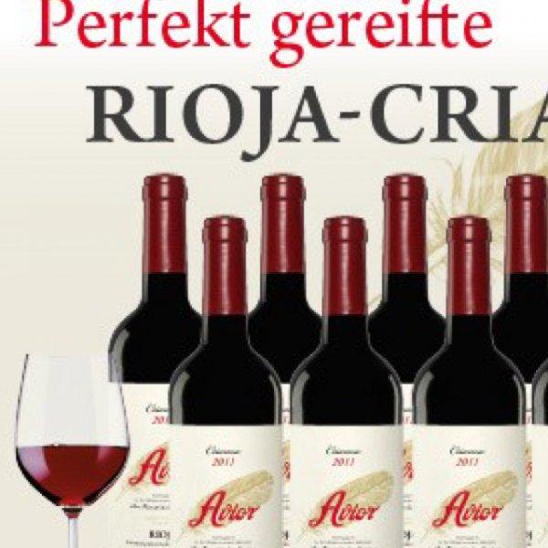 Avior Crianza 2011 für 6,08€ die Flasche