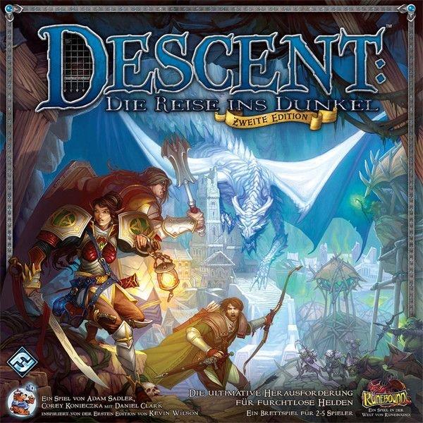 [Milan-Spiele] Descent - Die Reise ins Dunkel (Fantasy Flight Games, Heidelberger Spieleverlag)