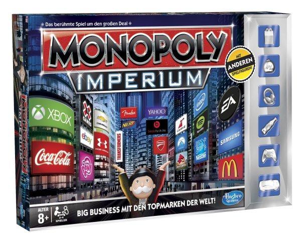 Hasbro - Monopoly Imperium v1.2, Familien-Brettspiel, deutsche Version, Edition 2014 / 29,99€ inkl. Versand