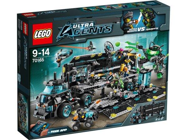 Lego Ultra Agents - Hauptquartier (70165) für 67€ @Amazon.co.uk