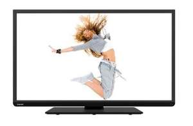 Toshiba 40L3443DG (40 Zoll) LED-Backlight-Fernseher (Full HD, 200Hz AMR, DVB-T/-C/-S, Smart TV. WLAN, CI+, HDMI, USB) schwarz für 299€ @Media Markt
