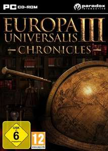 Europa Universalis III Chronicles bei Gamesplanet.com (Win only)