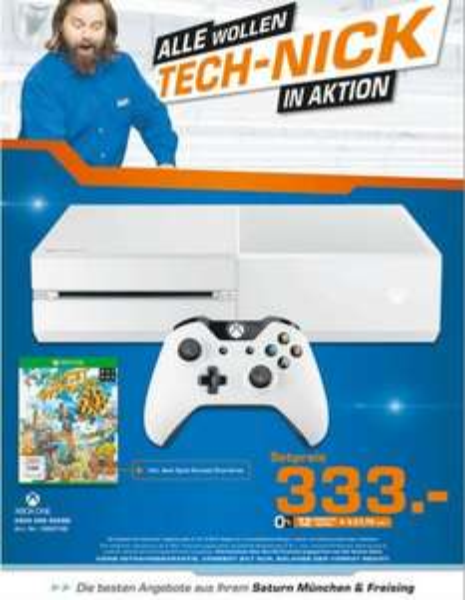 [LOKAL München] Xbox One inkl. Sunset Overdrive für 333€
