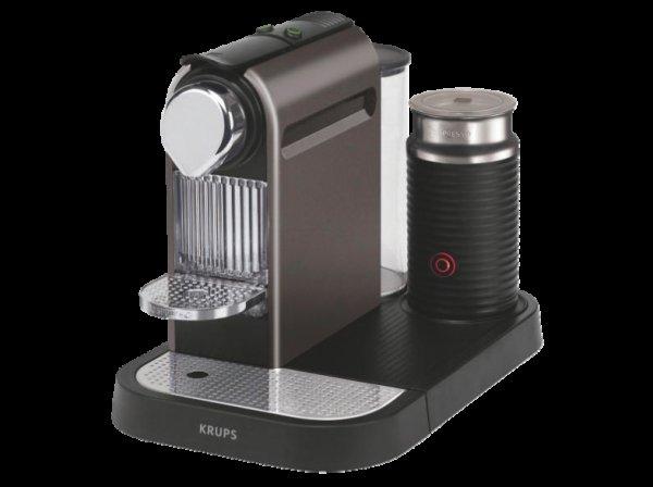 KRUPS Nespresso Citiz + Milk XN730T titan für effektiv 93,99€  (MediaMarkt)
