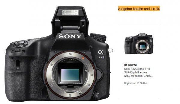 !! Blitzangebot 16:00 Erinnerung!!  Sony ILCA Alpha 77 II SLR-Digitalkamera