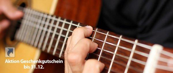 Special Weihnachtsdeal Gitarrenunterricht am Musikinstitut München