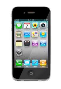 Apple iPhone 4 16GB + Vodafone SuperFlat Internet für 0 € mit 23,45 € mtl. statt 24,45 € - 24M LZ