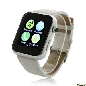 Smart Watch - Atongm AW08 [Lederband - Android]