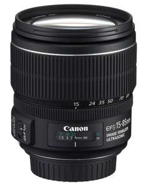 Canon EF-S 15-85mm IS USM Objektiv  499,- [Amazon]