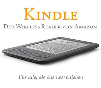 Amazon Kindle reduziert! Kindle 119€, Kindle 3G 159€