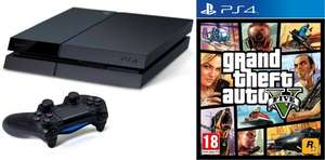 Playstation 4 + GTA V (multilang.) - Amazon Frankreich