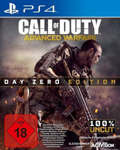 Call Of Duty: Advanced Warfare - Day Zero Edition (PS4, XONE) für 40€ + 5€ VSK @amazon