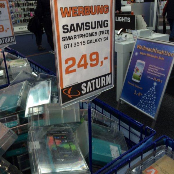 [Lokal] SATURN Samsung Galaxy S4 Berlin Märkisches Viertel
