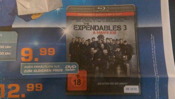 [LOKAL] Expendables 3 - BD/DVD für 9,99€ Saturn Köln Hansaring (ab. 22.12.)