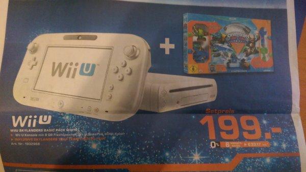 [LOKAL] Wii U Skylanders Basic Pack - 199€ - Saturn Köln Hansaring