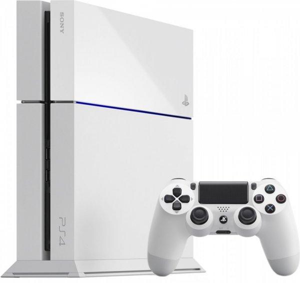 WinterSale bei Rakuten - Sony PlayStation 4 500GB weiß inkl. Dual Shock Controller + 40,90 € Superpunkte
