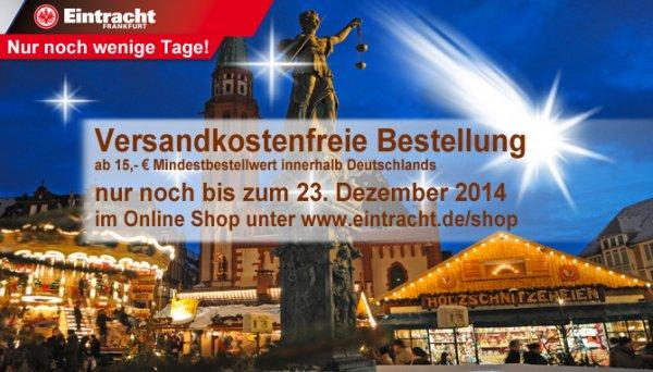 Eintracht Frankfurt Fanshop Online Versandkostenfrei bestellen ab 15 € Mindestbestellwert