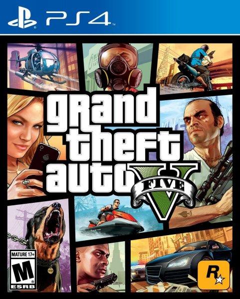 GTA V PS4 für ca. 47€ inkl. VSK