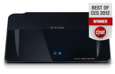 D-Link DIR-857 WLAN b/g/n 900Mbps Router, Medienserver (DLNA) USB 3.0, SD Kartenleser