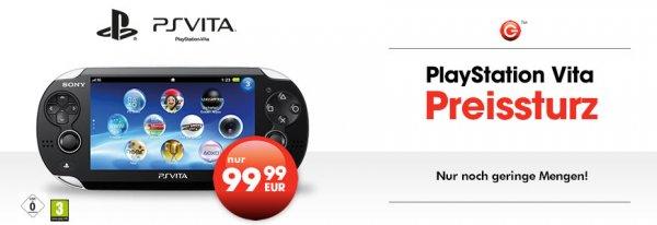 Gamestop (Deutschlandweit)PS Vita WiFi für 99,99 EUR (Ausverkauf)*
