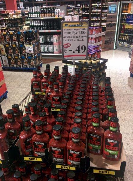 [Lokal Lübeck] Bull`s Eye Tomato Ketchup für 49 Cent