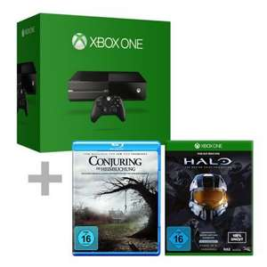 comtech.de - Xbox One 500GB (ohne Kinect) + Halo Master Chief Collection + Conjuring 369€