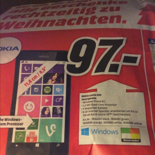 [MM Hannover] Nokia Lumia 630 für 97€