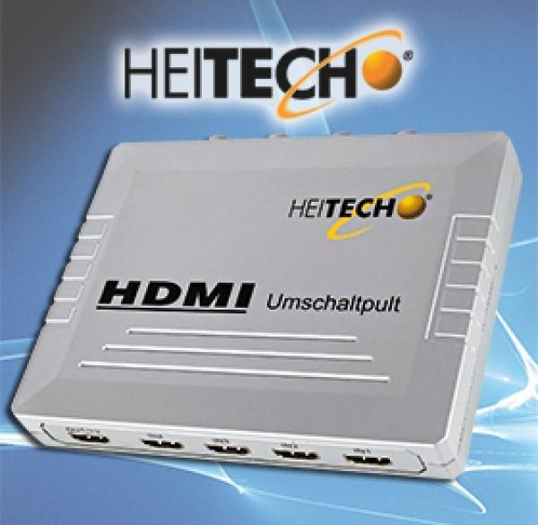 [CENTERSHOP] Heitech 4x HDMI Switch / Umschaltpult für 9,99€