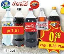 [CENTERSHOP] Coca Cola Produkte 1,5l (Alle Sorten Sprite, Cola, Mezzo, light, zero usw.) für 0,39€ / Monster Energy 0,5l für 0,79€