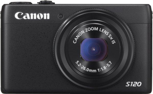Canon PowerShot S120 schwarz 249,- versandkostenfrei