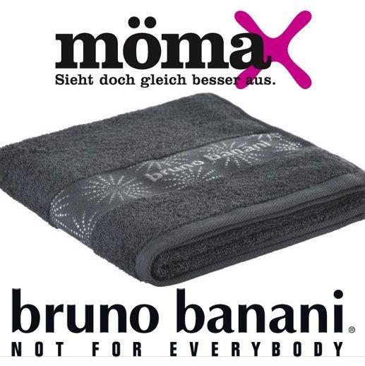 [MÖMAX.de] BRUNO BANANI 2 Duschtücher 70x140 cm oder 4 Handtücher 50x100 cm