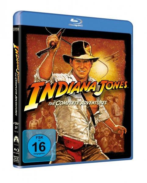 [Blu-ray] Indiana Jones - The Complete Adventures für 17,01 € inkl. Versand @buch.de