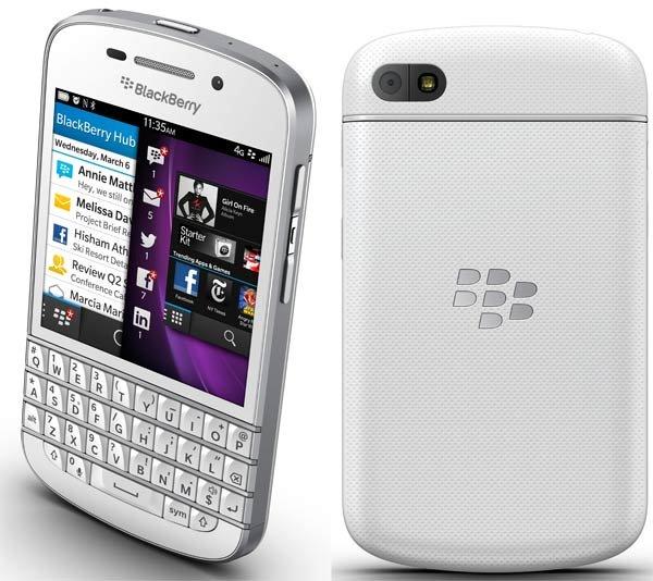 Blackberry Q10 wieder bei Digitalriver verfügbar für 160,12 Euro