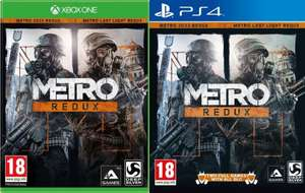 PS4/XBox One - Metro: Redux für €22,93 [@Zavvi.com]