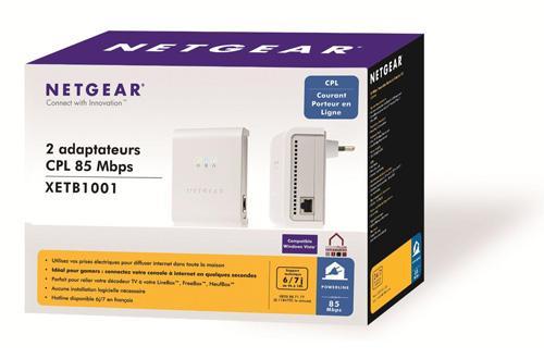 2er Set Netgear 85Mbit Ethernet Adapter DLAN inkl. Versand 29,99€