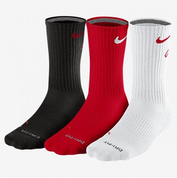 6 Paar Nike Ultimatum DriFit Crew Socken @11teamsports.de