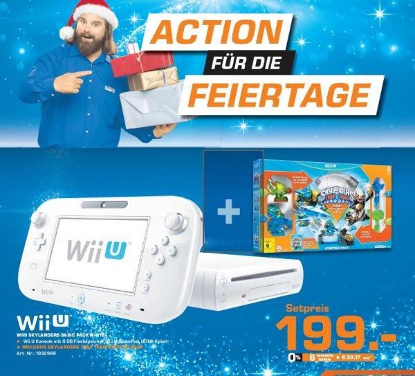 Wii U inkl. Skylander Trap Team