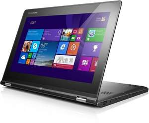 Lenovo Yoga 2 11 Convertible Notebook schwarz, Celeron N2930, 4GB RAM, 500GB HDD, W8.1 @ Amazon