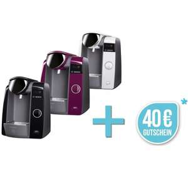 Bosch TASSIMO Joy + 40€ Gutschein* Heißgetränkemaschine Kapsel Kaffeemaschine @ebay