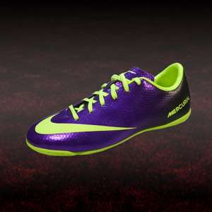 MERCURIAL VICTORY IV IC lila / gelb Hallenschuhe