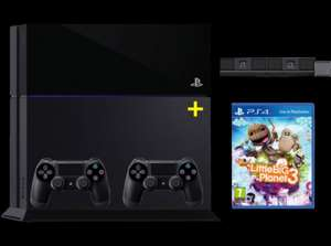Playstation 4 + Camera + 2. Controller + Little Big Planet 3 @ saturn.at