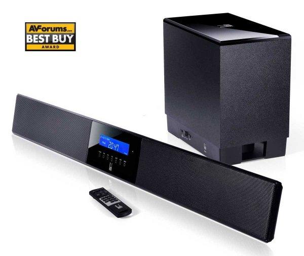 Roth Audio BAR  Soundbar mit integriertem DSP und kabellosem Subwoofer für 112,94 € @Amazon.co.uk