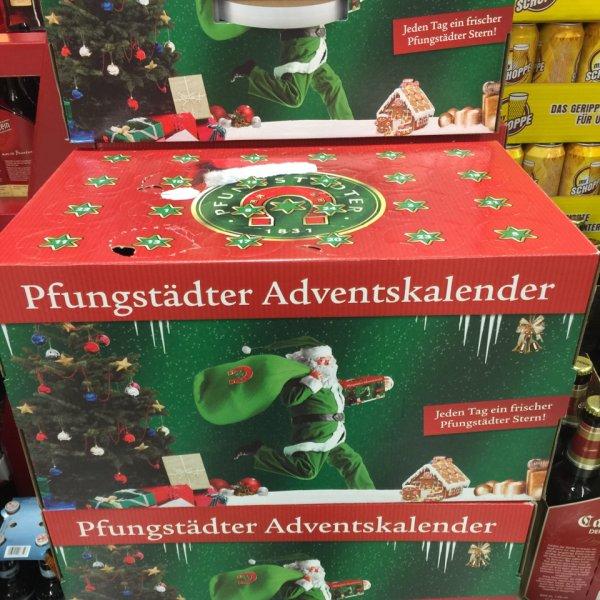 Pfungstädter Advenskalender 9,99€ inkl Pfand [Rewe Getränkemarkt Oberursel/Stierstadt Lokal]