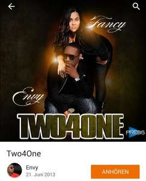 Mehrere Hip Hop Alben bei Google Play von Fancy und Envy