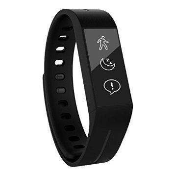 Striiv Aktivitätstracker/Smart-Uhr, mit Touchscreen, Schwarz