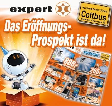 """[Expert] Neueröffnung in Cottbus am 22.12.14 u.a  Playstation 4 + 2 Controller + Fifa 15 für 385€ o. Apple MacBook Air 13"""" (MD760D/B) für 750€"""