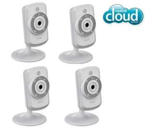 4 x D-Link DCS-942L, IP Kamera, für 211,70 EUR @Amazon.fr