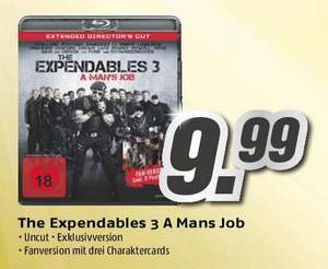 [Lokal Hannover MediMax] The Expendables 3 - A Man's Job - Extended Director's Cut [Blu-ray]